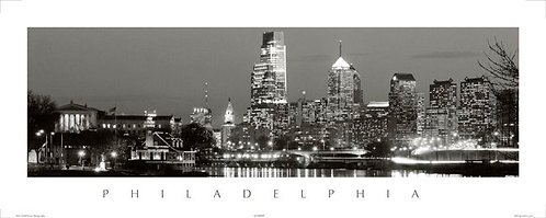 Philadelphia Skyline - 148PSBW
