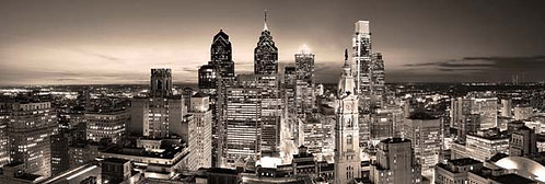 Philadelphia Skyline at Sunset - 167PMV