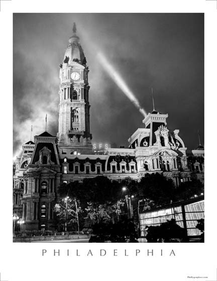City Hall in Fog - 176SBW