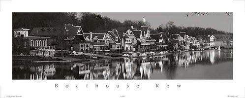 Boathouse Row Holiday Lights - 118PSBW