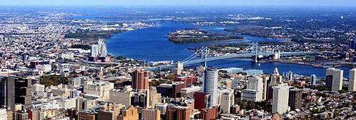 Benjamin Franklin Bridge Aerial - 172PM