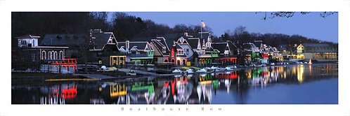 Boathouse Row Holiday Lights - 118PL