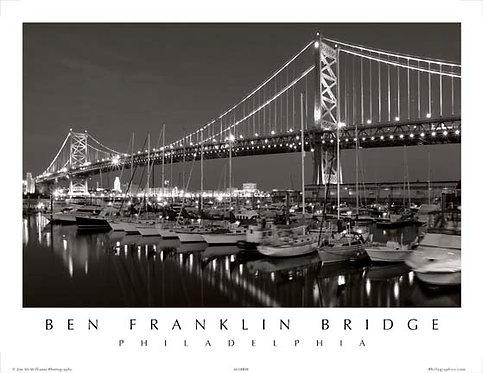 Benjamin Franklin Bridge - 151SBW