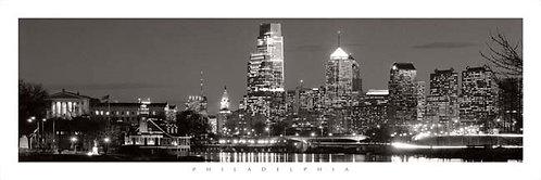 Philadelphia Skyline - 148PXLBW