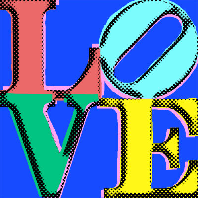 Pop Art - LOVE298