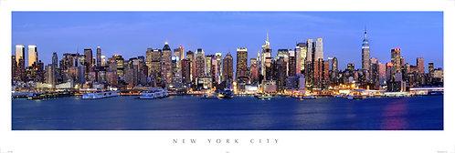 New York City Skyline - 800PM