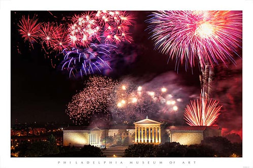 Fireworks at the Art Museum - 180L