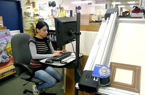 A framer using a computerized mat cutter