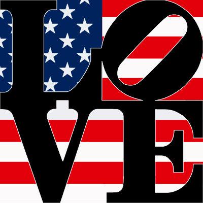 American Flag - LOVE309