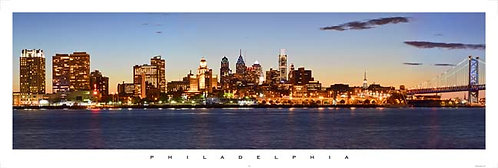 Philadelphia from Camden - 177PM