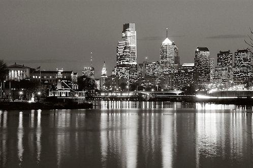 Philadelphia Skyline - 148XLBW