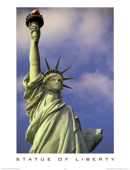 Statue of Liberty, NYC - 808S