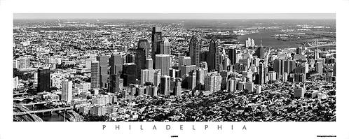 Philadelphia Aerial View - 115PSBW