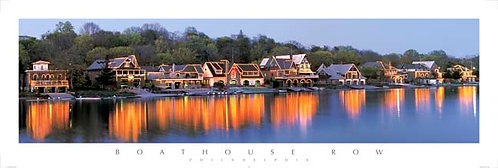 Boathouse Row - 158PM