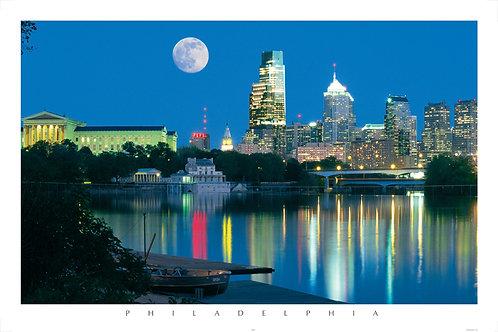 Moon Over Philadelphia - 136L