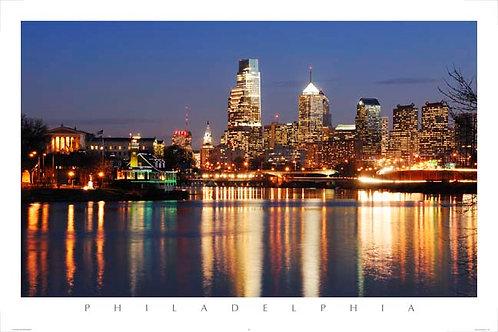 Philadelphia Skyline - 148L