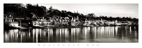 Boathouse Row at Sunrise - 162PMBW