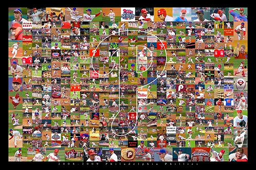 2008-2009 Phillies Collage - 113L