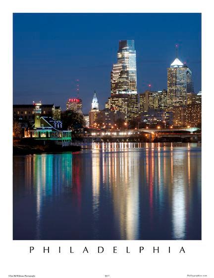 Philadelphia Skyline - 150S