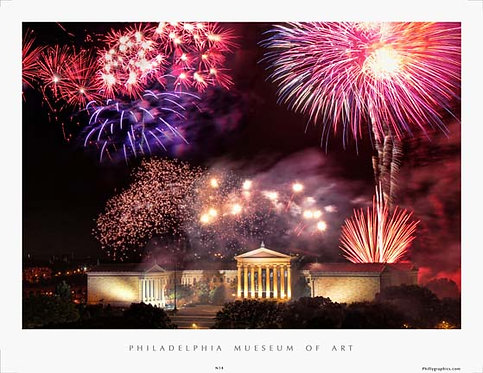 Fireworks at the Art Museum - 180S