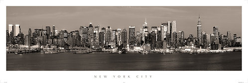 New York City Skyline - 800PMV
