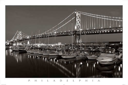 Benjamin Franklin Bridge - 151LBW