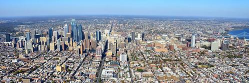 Philadelphia Wide View Aerial - 522PL