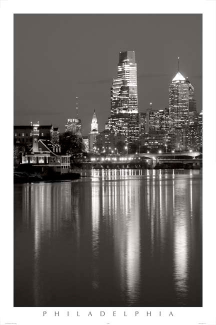 Philadelphia Skyline - 150LBW
