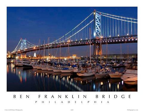Benjamin Franklin Bridge - 151S