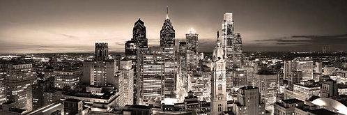 Philadelphia Skyline at Sunset - 167PLV