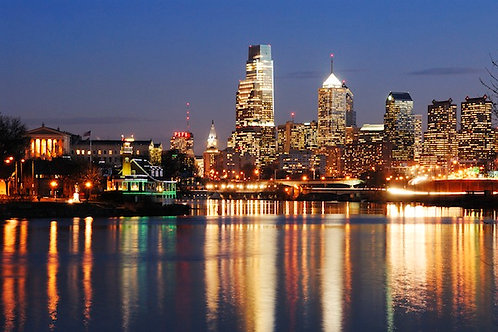Philadelphia Skyline - 148XL