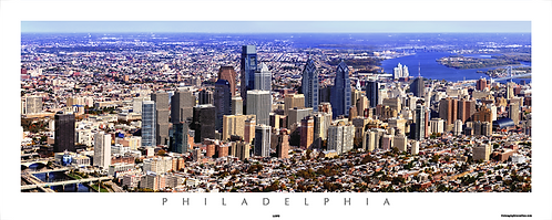 Philadelphia Aerial View - 115PS