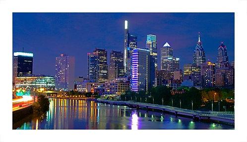 Philadelphia Skyline-Night-CFS-L