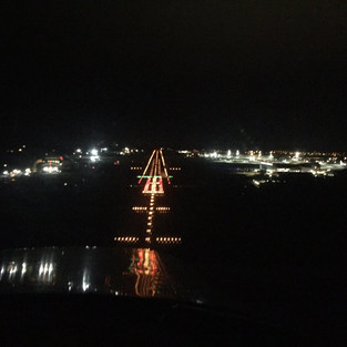 Night approach