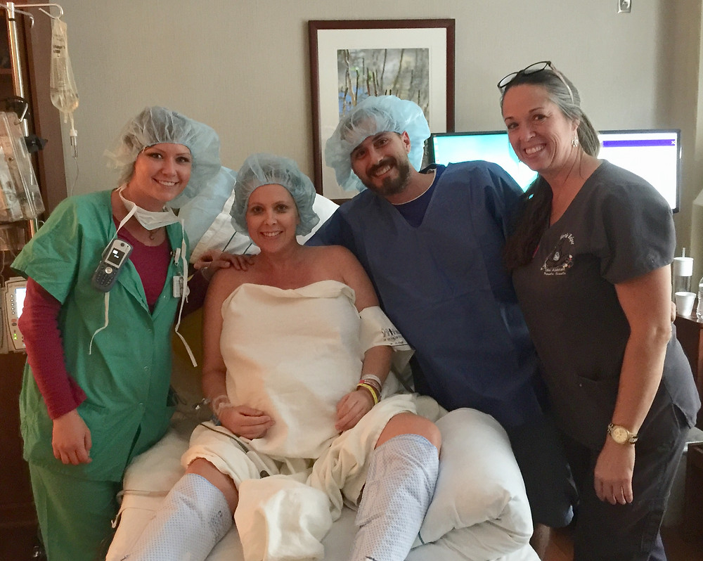 Prepped for repeat C-section | Your Birth Helper supported
