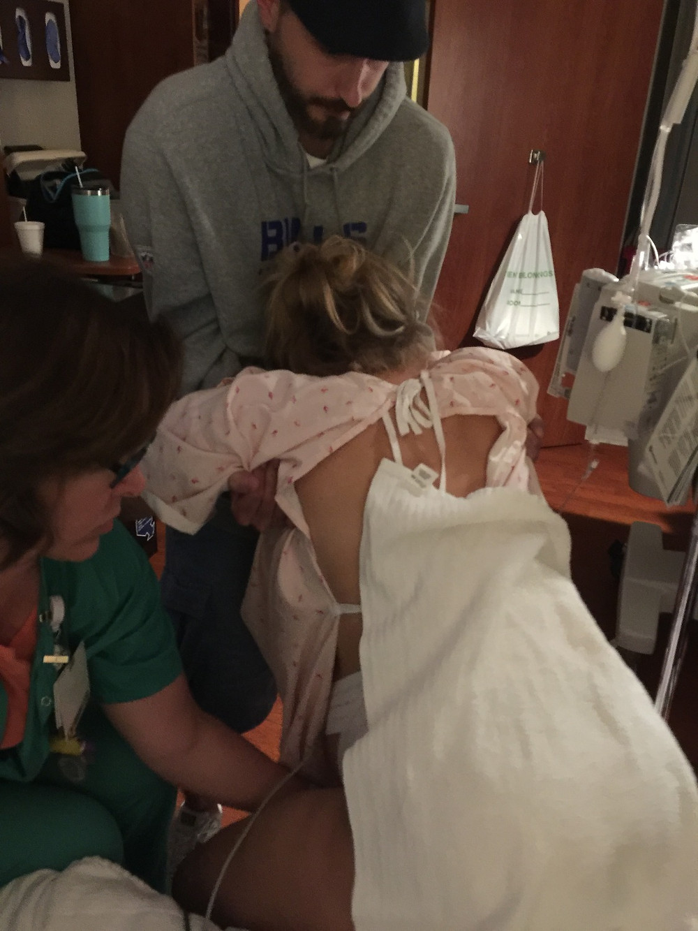 Nurse Nancy Cook | EFM while on birth ball