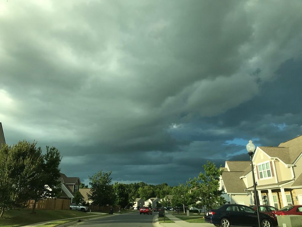 Charlotte, NC storm on the horizon