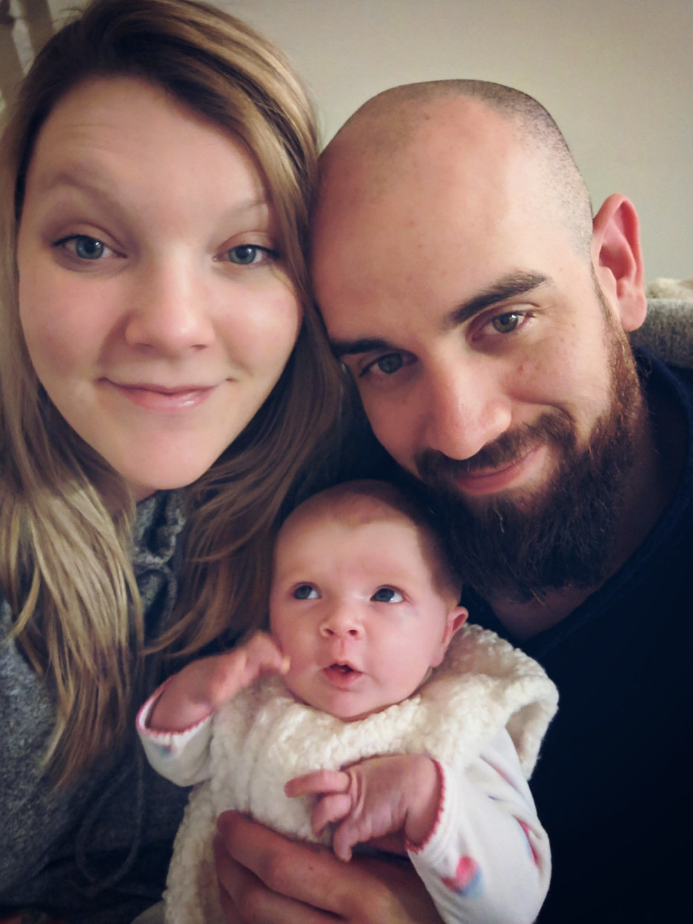 YBH Trained couple celebrates the birth of first child