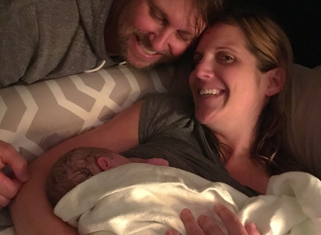 Unexpected Home Birth, I'lltake it! (Says Mom)