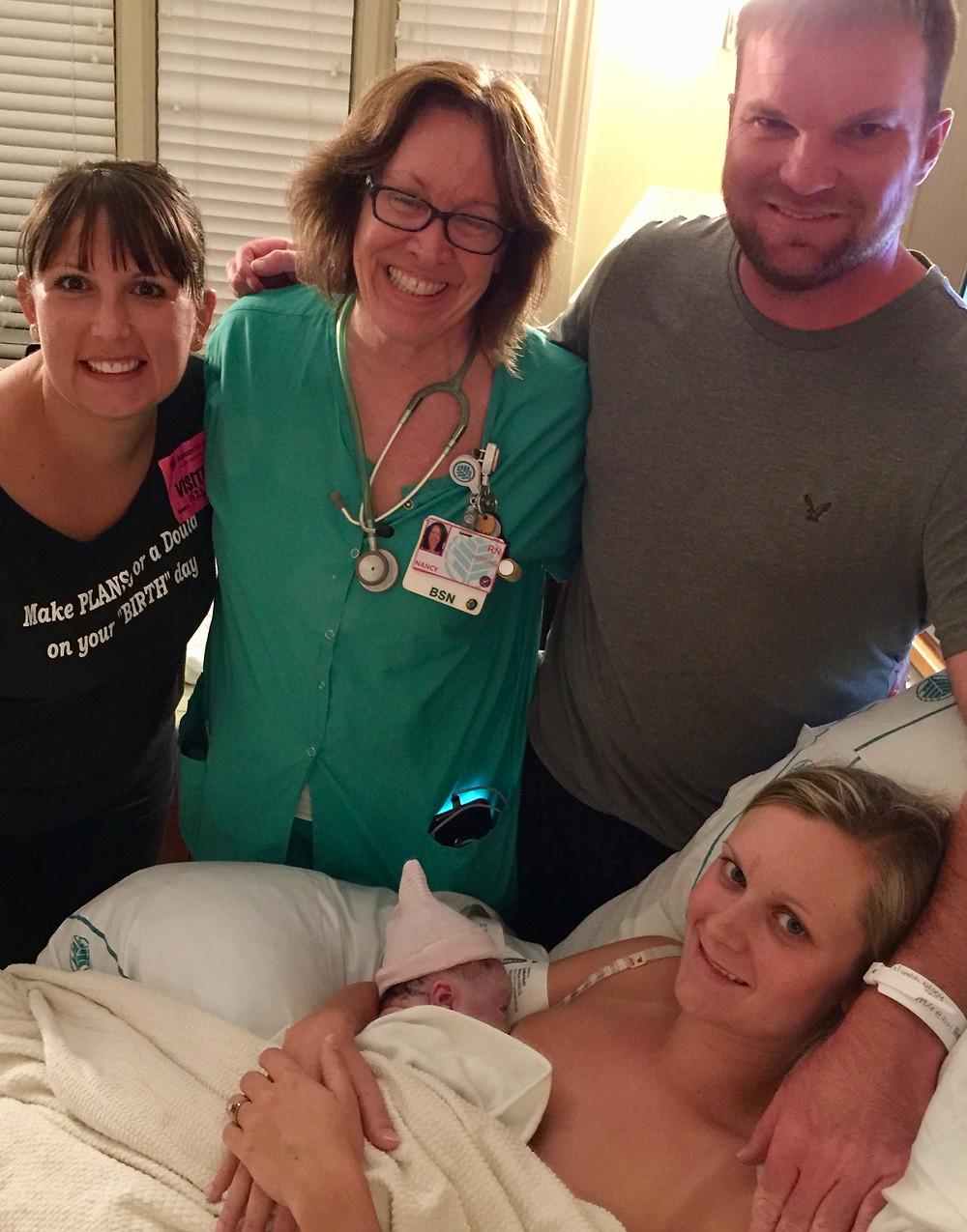 Drug Free Labor/ Birth | Natural Birth Nurse Nancy Cook | CMC Pineville