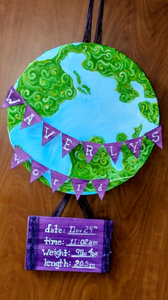 Elysa Espinoza, Artist   Newborn Artwork