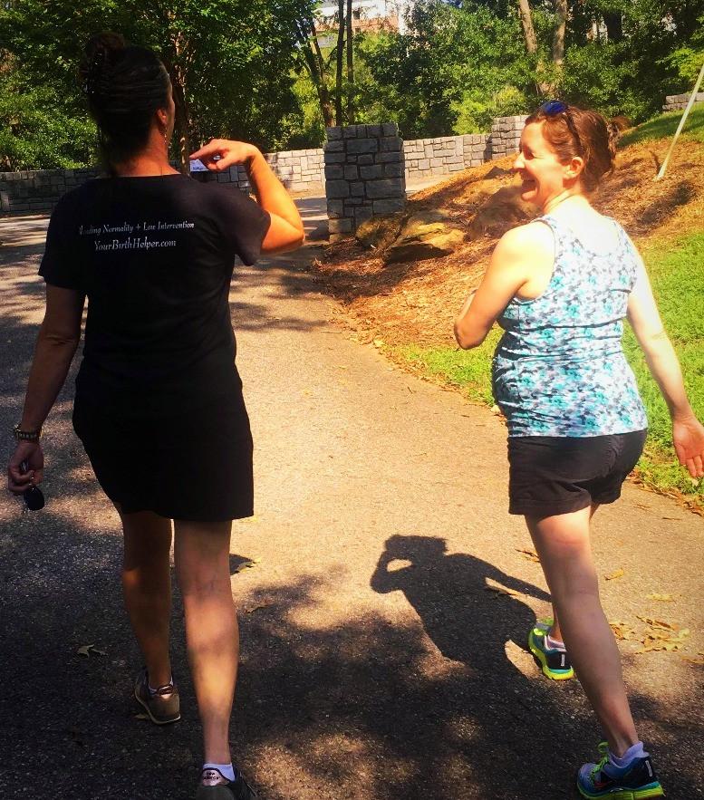 Walking to speed labor | Your Birth Helper Training