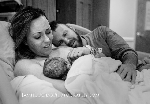 First moments after stillborn birth | Mom skin to skin