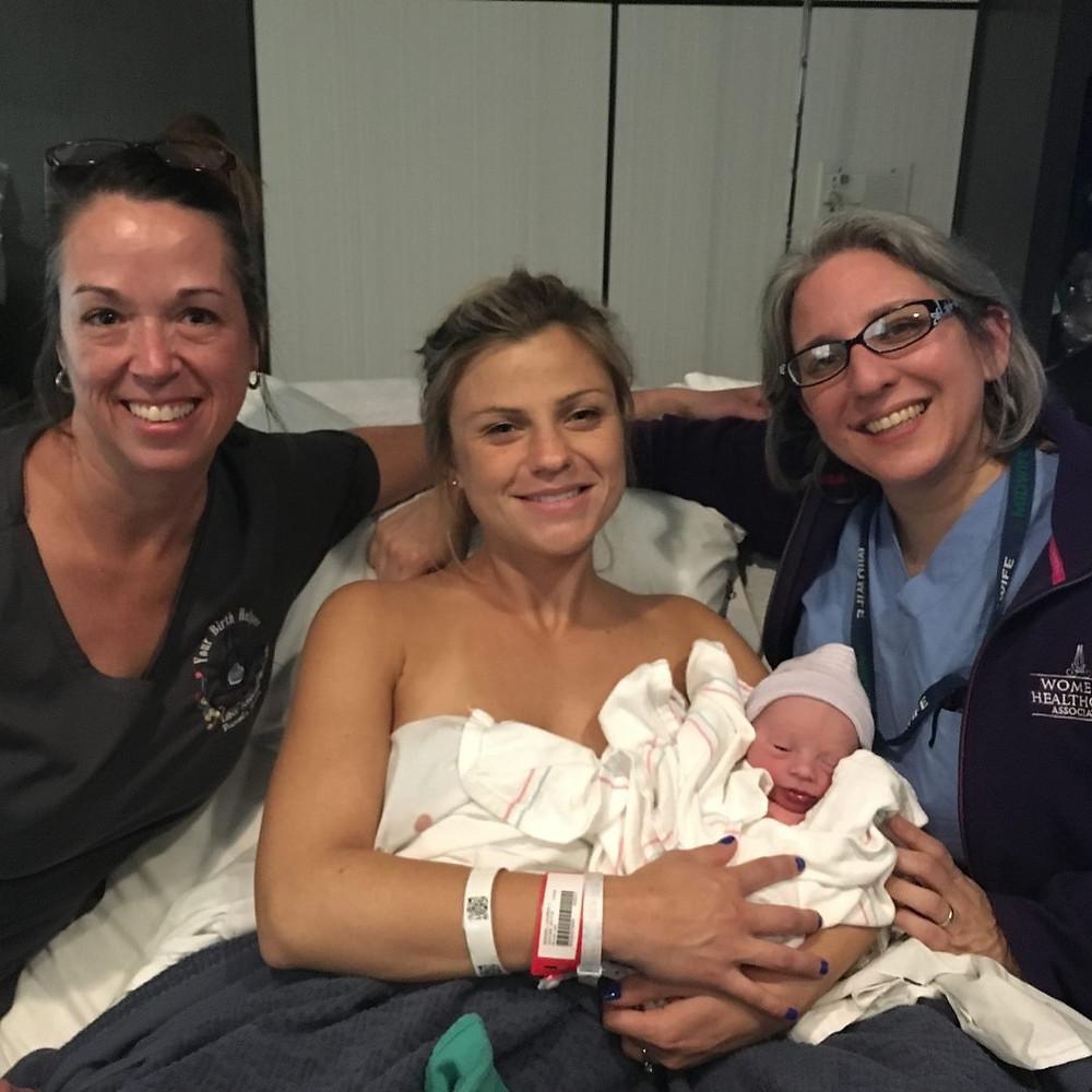 Epidural Free Birth | Midwife assisted Birth | #YourBirthHelper