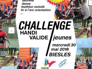 CHALLENGE HANDI-VALIDE JEUNES UNSS / 6ème édition