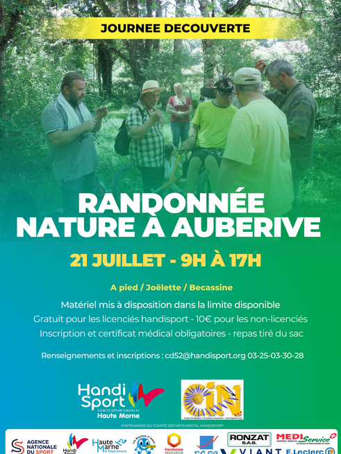//RANDONNEE NATURE  À AUBERIVE//