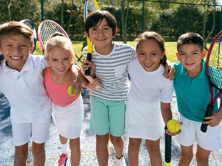 Tennis is about having fun!