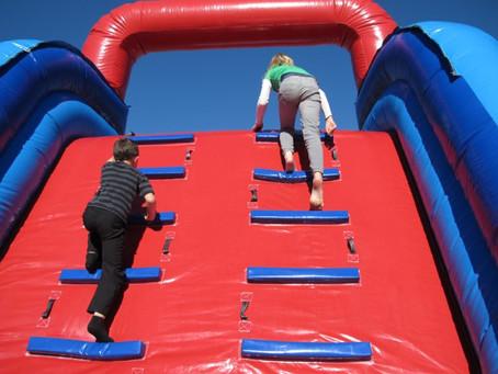 Progressions: Climbing ladders