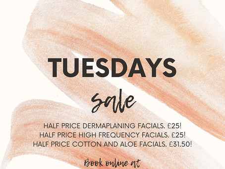 Treat yourself Tuesdays!