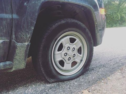 I Light LLC, Therapy Blog - Blest with a Flat Tire